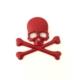 Boostzone Kuru Kafa Kırmızı Yapıştırma Logo