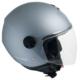 CGM Florence Gri Açık Motosiklet Kaskı Uzun Vizör 107A-FLA-18A XSmall