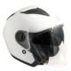 CGM Oslo Beyaz Açık Motosiklet Kaskı Kısa Vizör 130A-BLV-14A XSmall