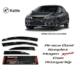 Sunplex Honda Civic 2013-2016 Arası Sunplex Mugen Tip 4'Lü Cam Rüzgarlığı