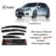 Sunplex Volkswagen Golf 5 Sunplex Mugen Tip 4'Lü Cam Rüzgarlığı