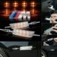 Boostzone Bmw E90 M Çamurluk Sinyali Ledli Şeffaf Boostzone