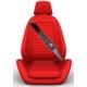 Simoni Racing Peugeot Araca Özel Deri Kemer Ped SMN104105