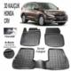 Leader 3D Kauçuk Paspas Honda Crv 2013 Ve Sonrası Uyumlu Siyah