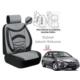 Süslenoto Honda Civic 2006-2012 Füme Oto Koltuk Kılıfı Ortopedik