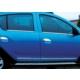 Z Tech Dacia Sandero 2 2013 Sonrası Krom Cam Çıtası 4 Parça