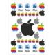 Stickermarket Apple Sticker Seti