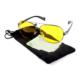 TveT Metal Çerçeveli Anti Far Gece Görüş Gözlüğü (Damla Modeli)