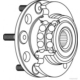 Elıtcar B36943 Arka Teker Rulmanı Poryalı Hyundaı Tucson 2.0 Crdı 01/06=> Abs Sız (Vkba6943)