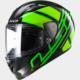 Ls2 Ff323 Ion Siyah-Neon Yeşil Kask M