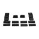 Bross Otomotiv VW RCD 300 CD için 16 Parça Tuş Düğme Kapak Tamir Takımı