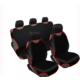 Otokilifci Atlet Kılıf Atlet Koltuk Kılıfı Seti Ön Arka Siyah Kırmızı Biyeli