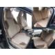 Ford Fiesta 2009 ve sonrası siyah renk Araca Özel Dikim Oto Koltuk Kılıfı NanoTech Kir, Leke Tutmaz Tay Tüyü Kumaş