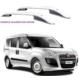 Ldr Fiat Doblo 2010 Sonrası Üst Çıta Alüminyum Komple