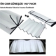 Carub Oto Ön Cam Güneşlik Balonlu Araba Güneşliği 145 Cm 70 Cm