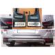 Dacia Duster Kromlu Tozluk Paçalık Çamurluk 4 Lü Set