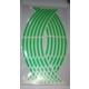 Jant Şeridi Fosforlu 8 Parçalı Yeşil