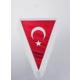 ModaCar Flamalı Vantuzlu Türk Bayrağı 30 cm 061188