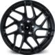 "ARCEO L967 18"" Volkswagen,Audi,Seat,Skoda 8.5 Offset 5x100 ET35 Matt Black Jant"