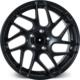 "ARCEO L967 18"" Volkswagen,Audi,Seat,Skoda 8.5R Offset 5x112 ET35 Matt Black Jant"