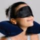 ModaCar Seyahat Uyku Yastığı Kulak Tıkayıcı Göz Bantı Seti 102241
