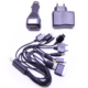Telefon Şarj Cihazı Araç Ve Ev Tipi Çok Uçlu 10 lu Usb li 12V - 220V NT00014