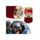 Hava Filtresi 2 Aparatlı(Dar-Geniş Ağızlı) Krom-Kırmızı 4686301