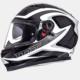 MT Kask MT Blade SV Morph Gloss Pearl White/Black/Gray Full Face Güneş Vizörü
