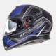 MT Kask MT Thunder 3 Trace Matt Black/Blue Full Face Güneş Vizörü