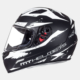 MT Kask MT Mugello Vapor Matt Black/White Full Face