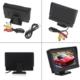 Audiomax 5 İnç Lcd Araç Monitör Geri Vites Kamerası Uyumlu
