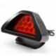 ModaCar Motorsiklet İçin Kırmızı Flaşlı Güvenlik Lambası 75d122