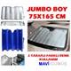 Dreamcar Mavi-Gümüş 1. Kalite Metalize Güneşlik Balonlu Jumbo Boy 75X165 Cm 1104503