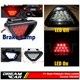 Dreamcar F1 Style Kırmızı Flash Patlayan Stop Lamba 12 Led 3563003