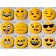 Emoji Boyun Yastığı Sarı No:6 Çap:25Cm 250Gr