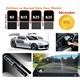 Cam Filmi Kutu Bir Arabalık 50Cmx6m Super Dark Black