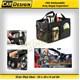 CRD Katlanabilir Araç Bagaj Çantası Organizeri