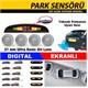 Otocontrol Park Sensör Gri Lens Ekranlı RT 233G 38532