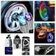 Dreamcar 7 Renk Tireflys Ledli Jant Işığı 2 Adet 8010505