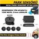 Sesli Park Sensörü Siyah Lens 21 mm 41199