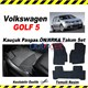 Volkswagen GOLF 5 Kauçuk Ön / Arka Araca Özel Paspas Seti