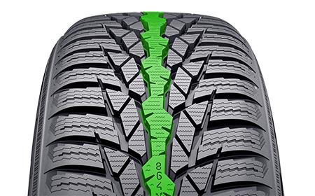 Steering-precision-rib-Nokian-WR-D4-450p