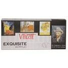Vincent Exquisite Akrilik Boya Seti 12 Renk x 12 ml.