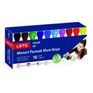 Lets 6530 Miniart Parmak Mum Boya 10 Renk