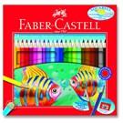 Faber-Castell Karton Kutu Aquarel Boya Kalemi 24 Renk (5171110624)