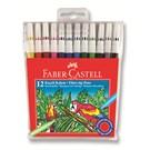 Faber-Castell Keçeli Boya Kalemi 12'li Poşet (5062155130)