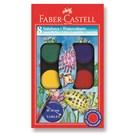 Faber-Castell Redline Suluboya 8 Renk Küçük Boy (5292125008)