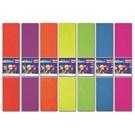 Adeland Floresan Renkli Krepon Kağıdı, 10 Karışık Renk