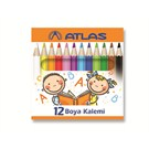 Faber Atlas 328300 Kuruboya 12 Renk 1/2 Boy