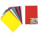 Nova Color Nc-270 Eva 20x30 cm Yapışkanlı 10 Renk Karışık Fon Kartonu